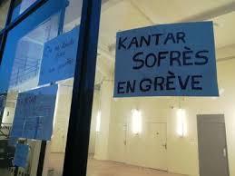 2e jour de grève à KANTAR SOFRES LYON