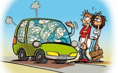 Pas de BlaBlaCar avec la voiture du Boss !